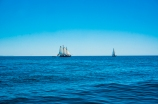 Paisaje marino con veleros - Algarve
